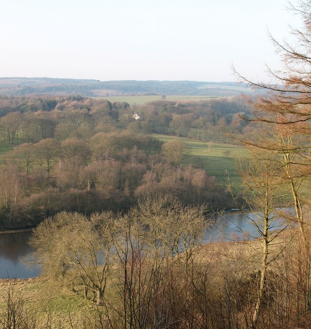 View over Elleron Lake