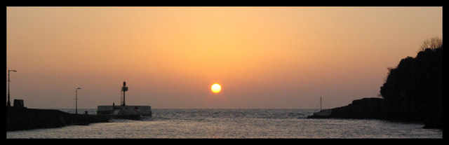 Sunrise over the Banjo Pier