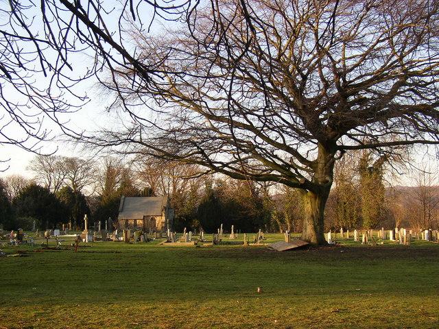 Part of Otley Cemetery, Otley