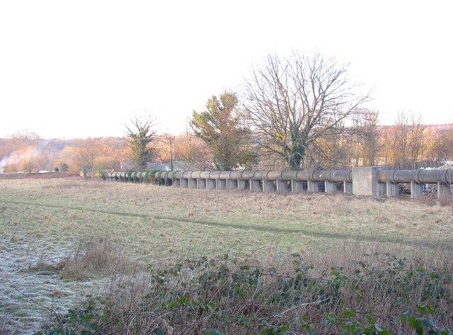 Sewerage pipeline, Otley