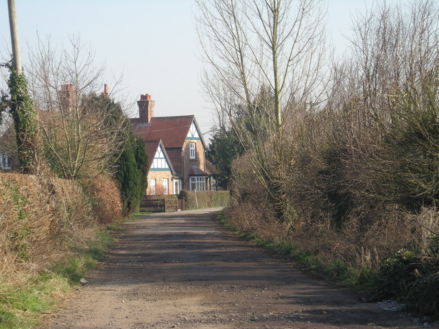 Driveway to 'The Sands'