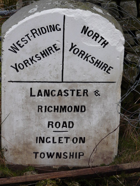 County Boundary Marker