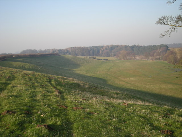 Worfe valley: The footpath to Grindle