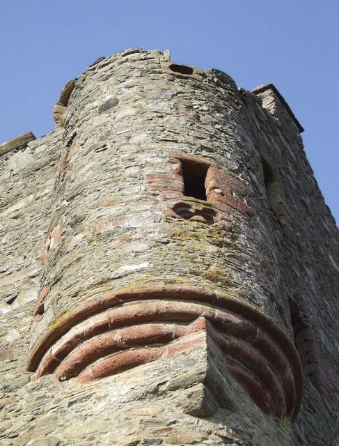 Turret, Invermark Castle