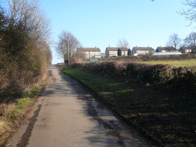 Grassmoor - Mill Lane View towards Whitmore Avenue