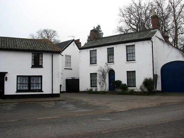 Houses on Market Place