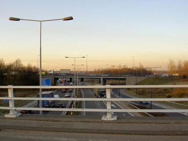 Gridlock on the Eccles Interchange