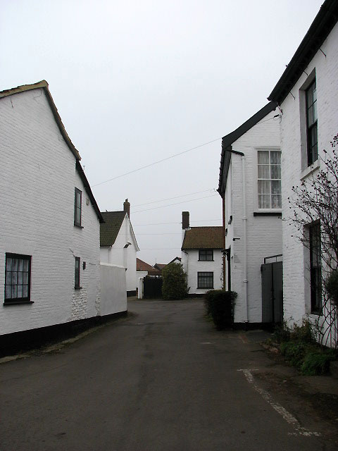 A lane leading off Market Place