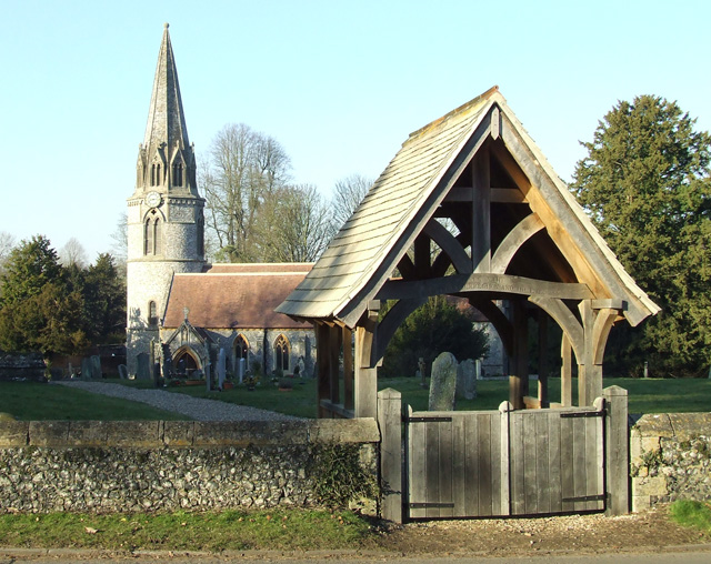 Church and Lych Gate.