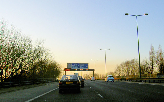 Parked on the M602