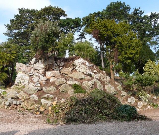 Rockery, Oldway mansion, Paignton