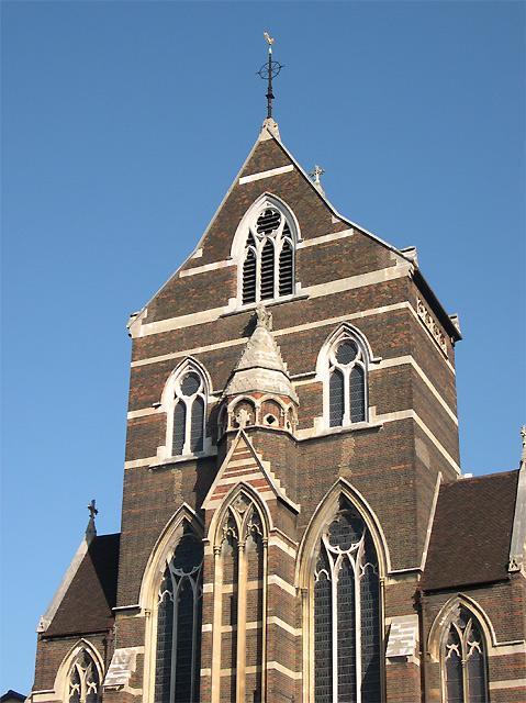 St Alban's Church (detail), Holborn