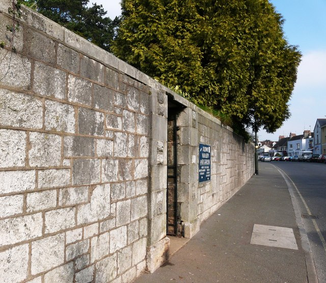 Entrance gate, Oldway mansion, Paignton