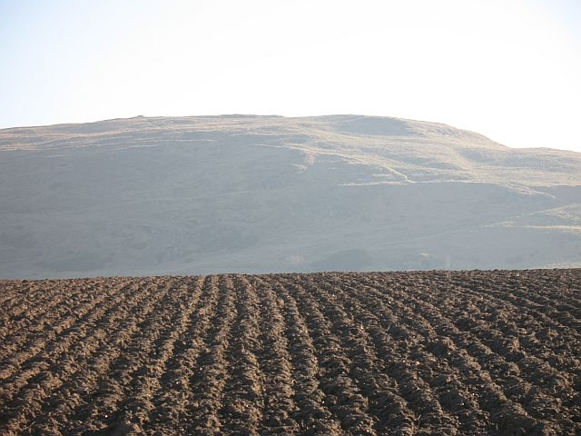 Ploughed land, Nether Hailes
