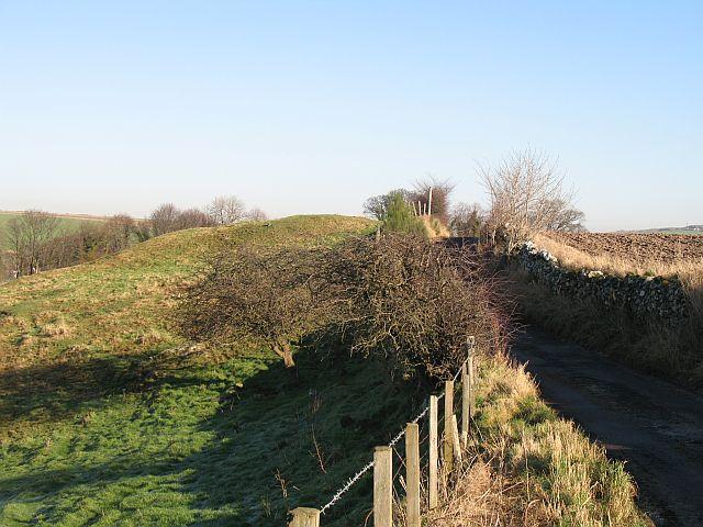 Lane, by Hailes Castle