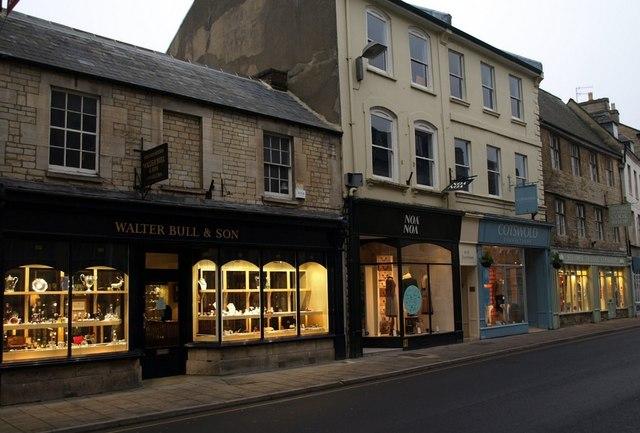 Shops, Dyer Street, Cirencester