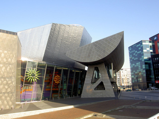 The Lowry entrance