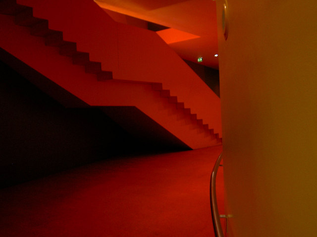 Bold colours in the Lowry
