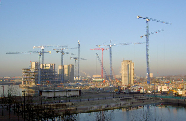 Construction site 'Media City'