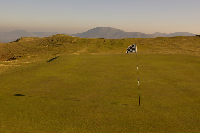 10th Green, Church Stretton Golf Club