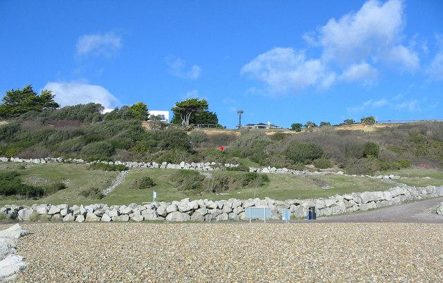 Cliffs Highcliffe on Sea Dorset.