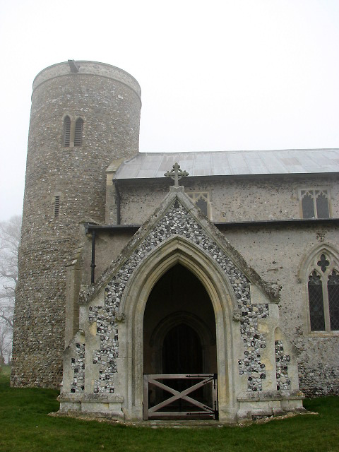 St Peter's church - south porch and tower