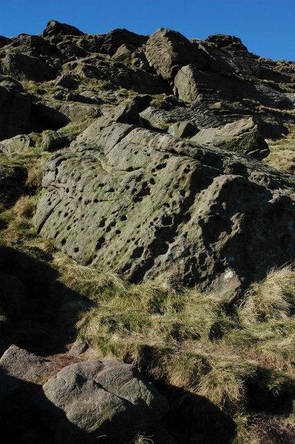 Crags on Shutlingsloe
