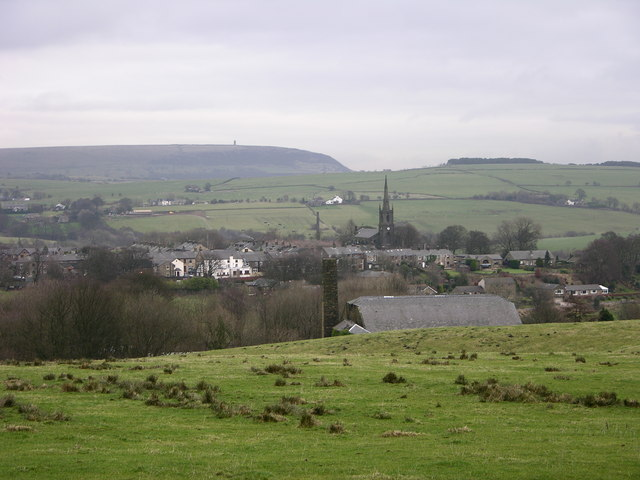 View over Chapeltown from Witton Weaver's Way