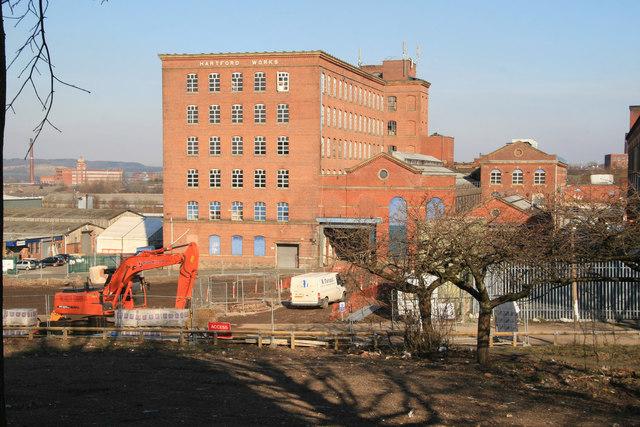 Hartford Works, Werneth