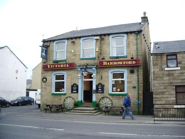 Victoria Hotel, Gisburn Road, Barrowford