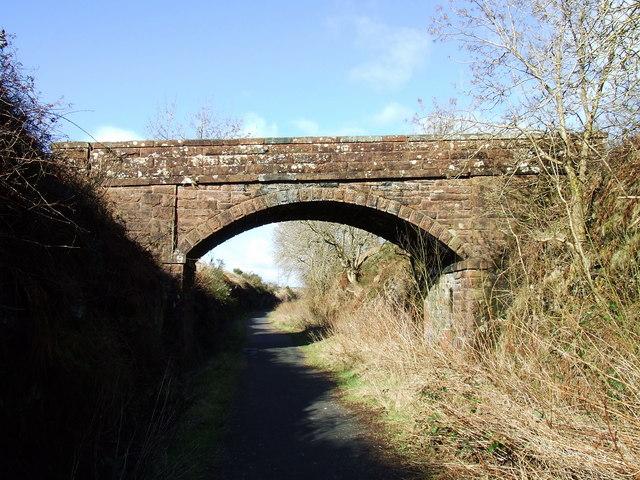 Bridge at West Kilbride farm