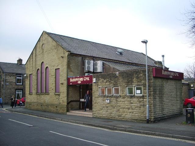 Civic Hall, Maud Street, Barrowford