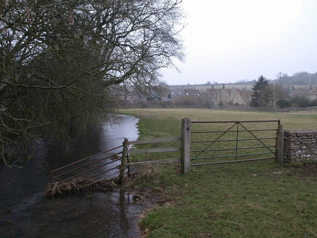 River Churn near Baunton
