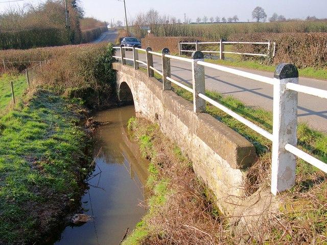 Gad Bridge, Weobley Marsh