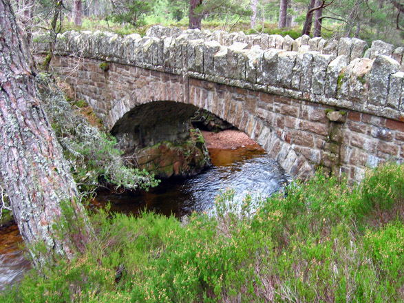 Bridge over the Water of Allachy, Glen Tanar