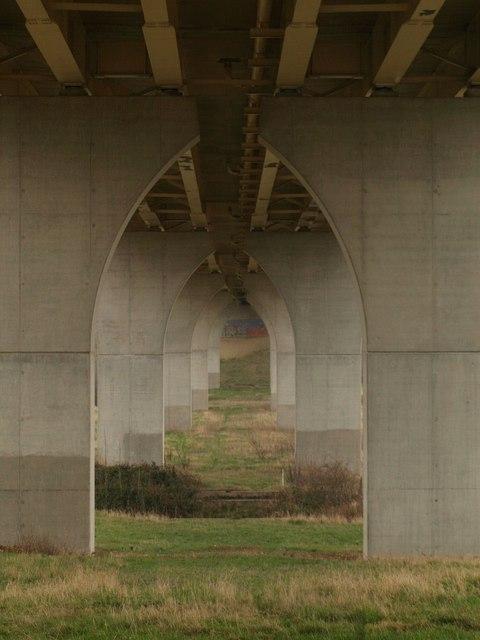 Beneath the A417
