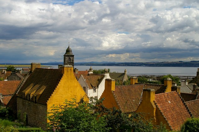 Culross Palace and town