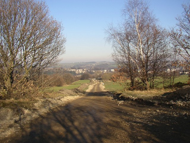Temporary site access road, Rastrick
