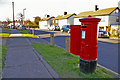 TQ3096 : George V Pillar Box, Lonsdale Drive, Enfield by Christine Matthews