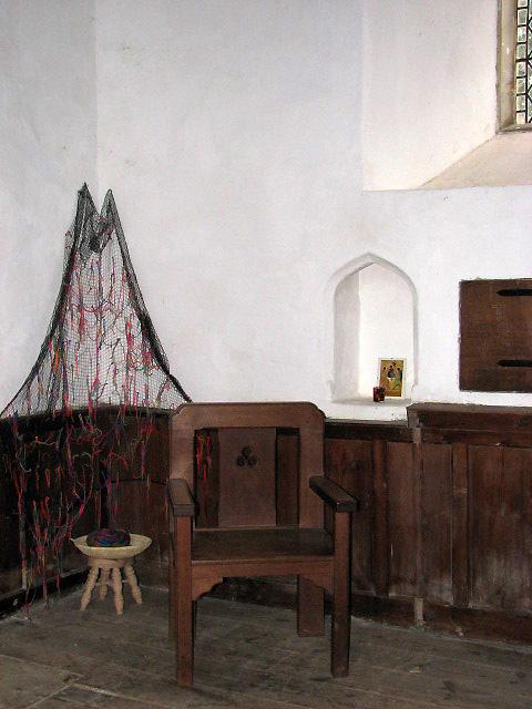 The church of St Peter & St Paul - prayer net