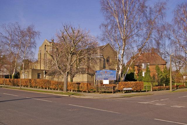 Parish Church of St Peters, Vera Avenue, Grange Park