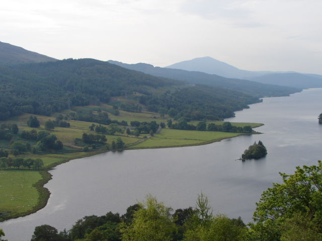 The Queen's View, Loch Tummel
