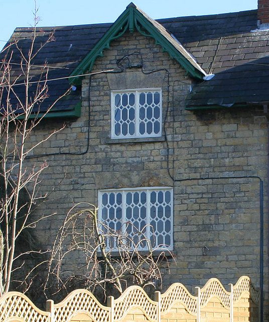 Detail of cottage on Melton Road, Waltham on the Wolds