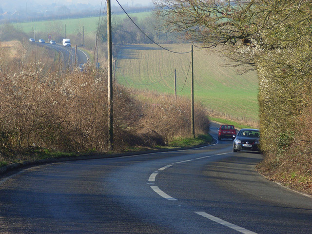 Span Hill, the A4155, Henley Road, Dunsden