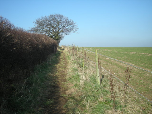 Footpath over Guy's Bank