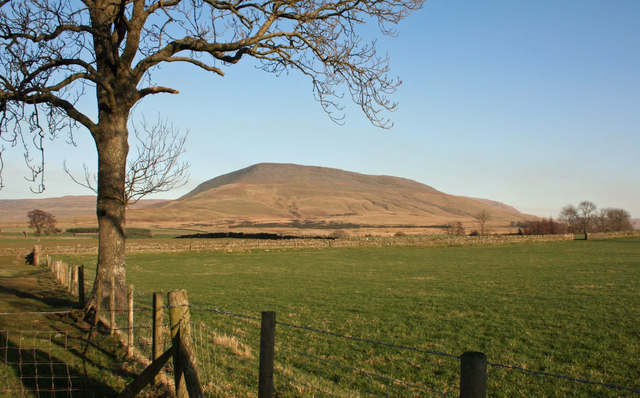 View of Thornless Hill