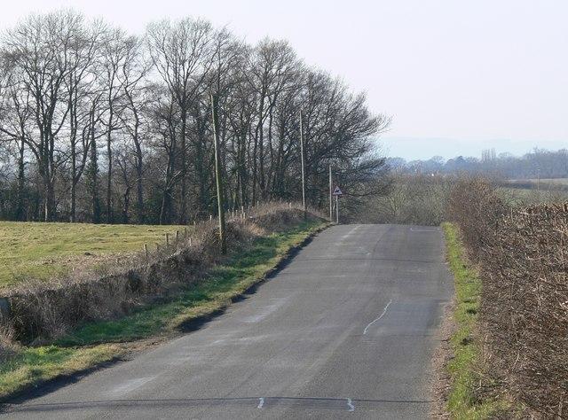 Country lane to Keyham