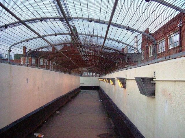 Central Line footbridge