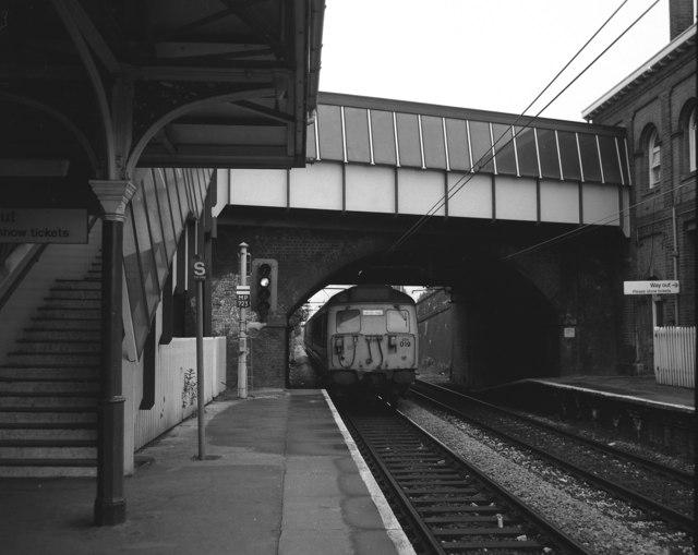 Brooklands station