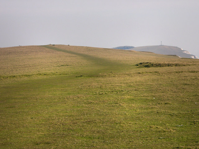 Coast path on West High Down